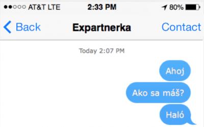 Čo robiť, ak tvoja ex neodpisuje na správy?